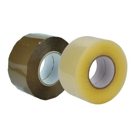 PP 'High Tack' acryl tape 150 meter (per doos)