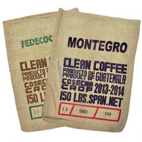 Jute koffiezakken - Clean Coffee Guatemala