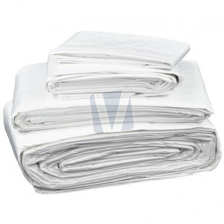 Afdekzeil wit standaard (150gr/m²)