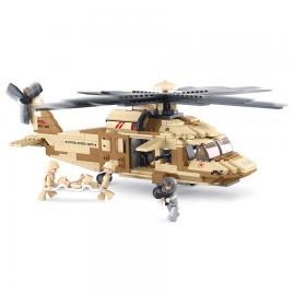 Sluban Army black hawk helicopter M38-B0509