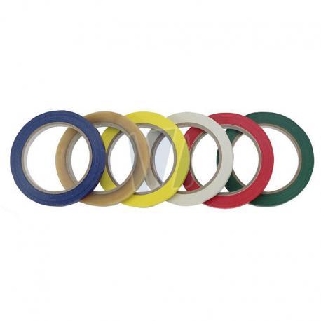 Tape voor zakkensluiter in meerdere kleuren (per rol)