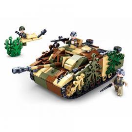 Sluban WWII Camouflages tank M38-B0858