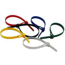Hersluitbare kabelbinders / Herbruikbare tyraps