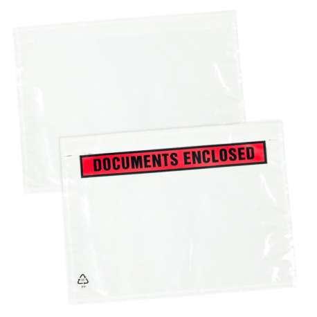 Paklijstenveloppen documents enclosed en blanco