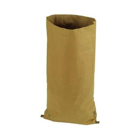 Papieren zak met zijvouw (per 100 stuks)