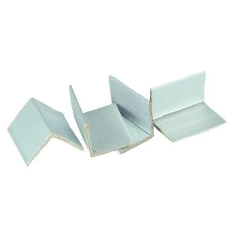 Kartonnen hoekprofielen met aluminium buitenlaag
